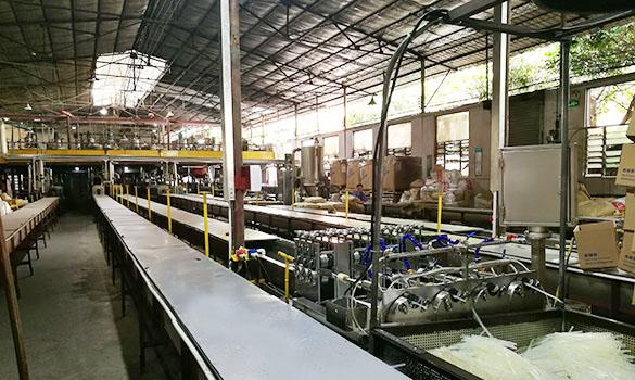 伟旺热熔胶生产线实拍